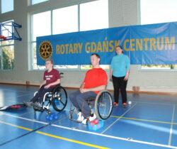 Rotary Gdańsk Centrum ponownie współorganizowało turniej dla niepełnosprawnych sportowców