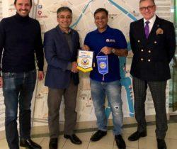 Spotkanie z członkiem Rotary z Indii