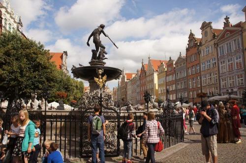 7629vik Gdańsk, fontanna Neptuna. Foto Barbara Maliszewska
