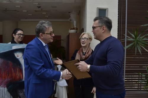 Rotary Club i Dariusz Michalczewski charytatywnie